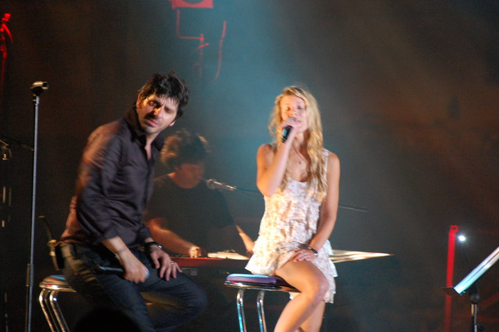Emilie Smill et Patrick Fiori