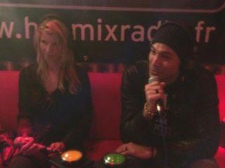 Emilie Smill et Merwan Rim (Hotmixradio)