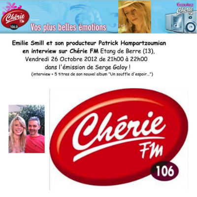Emilie Smill (interview ChérieFM)