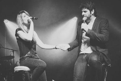 """Emilie Smill et Patrick Fiori (Duo """"Si tu revenais"""" au Pasino d'Aix en Provence)"""